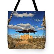 Casa Grande Ruins National Monument Tote Bag by Sam Antonio Photography