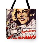 Casablanca B Tote Bag