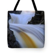 Cascade At Dawn Tote Bag