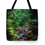 Cascade Creek Tote Bag