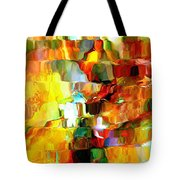 Cascade De Couleurs Tote Bag