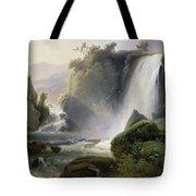 Cascade Dit Autrefois La Cascade De Tivoli Tote Bag