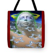 Cascade Goddess Tote Bag
