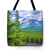 Cascade Mountain Tote Bag