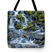 Cascade Of Many Waters Tote Bag