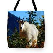 Cascade Range Mountain Goat Tote Bag