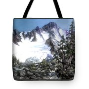 Cascade Splendor  Mount Fury Tote Bag