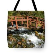 Cascade Springs With Bridge Tote Bag