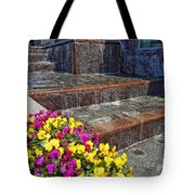 Cascade Water Tote Bag