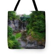 Cascadilla Gorge Cornell University Ithaca New York 02 Tote Bag