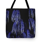 Cascading Fireworks Tote Bag by DigiArt Diaries by Vicky B Fuller