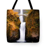 Cascading Gold Waterfall II Tote Bag