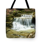 Cascading Into The Pool Tote Bag