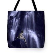 Cascading Light Tote Bag