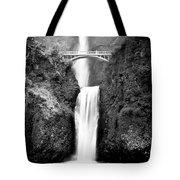Cascading Waterfall Multnomah Falls Tote Bag