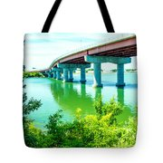Casco Bay Bridge Tote Bag