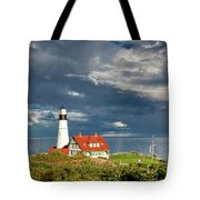 Casco Bay Lookout Tote Bag