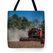 Case Ih Bean Harvest Tote Bag by Ron Pate
