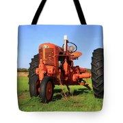 Case Tractor Tote Bag
