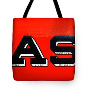 Case Tractor Nameplate Tote Bag