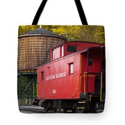 Cass Railroad Caboose Tote Bag