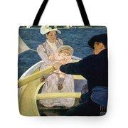 Cassatt: Boating, 1893-4 Tote Bag by Granger