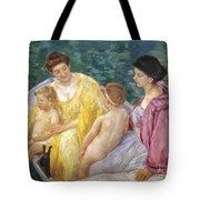 Cassatt: The Swim, 1910 Tote Bag