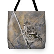 Cassin's Sparrow Tote Bag