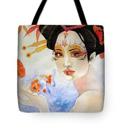 Cast In An Orchid Tote Bag