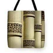 Cast Iron Columns Tote Bag