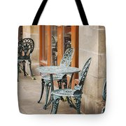 Cast Iron Garden Furniture Tote Bag