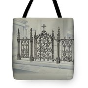 Cast Iron Gate And Fence Tote Bag