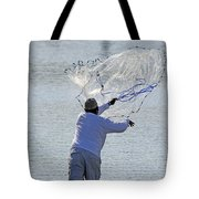 Cast Net Tote Bag