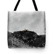 Castellane, France On The Route Napoleon Tote Bag