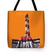 Castellers De Catalunya Tote Bag