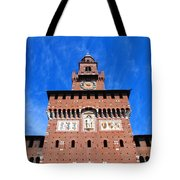 Castello Sforzesco Tower Tote Bag
