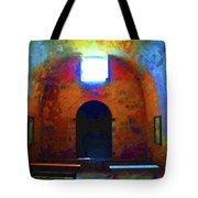 Castillo De San Marcos Chapel Tote Bag