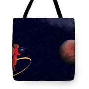Casting A Spell Tote Bag