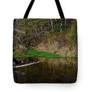Casting For Trout Tote Bag
