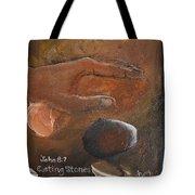 Casting Stones Tote Bag