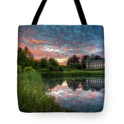 Castle And Pond Tote Bag