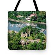 Castle At Glen Island Tote Bag