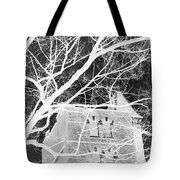 Castle At Night Tote Bag
