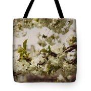 Castle Blossoms Tote Bag