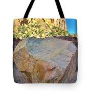Castle Boulder Tote Bag