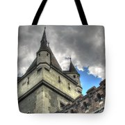 Castle Budapes Tote Bag