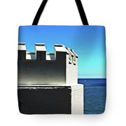 Castle By The Sea Tote Bag