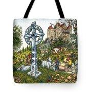 Castle Cross Tote Bag