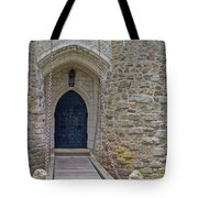 Castle Entrance Tote Bag by Suzanne Gaff