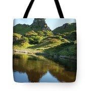 Castle Ewan With Reflection Tote Bag
